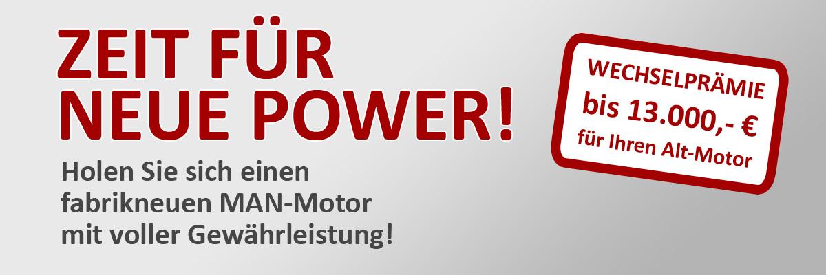 Zeit für neue Power! Abwrack-/Wechselprämie/Repowering!